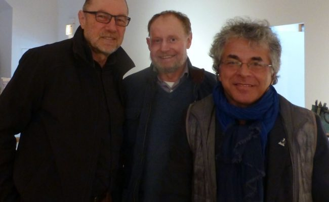 Polish Cultural Fund members with Slawomir Grunberg